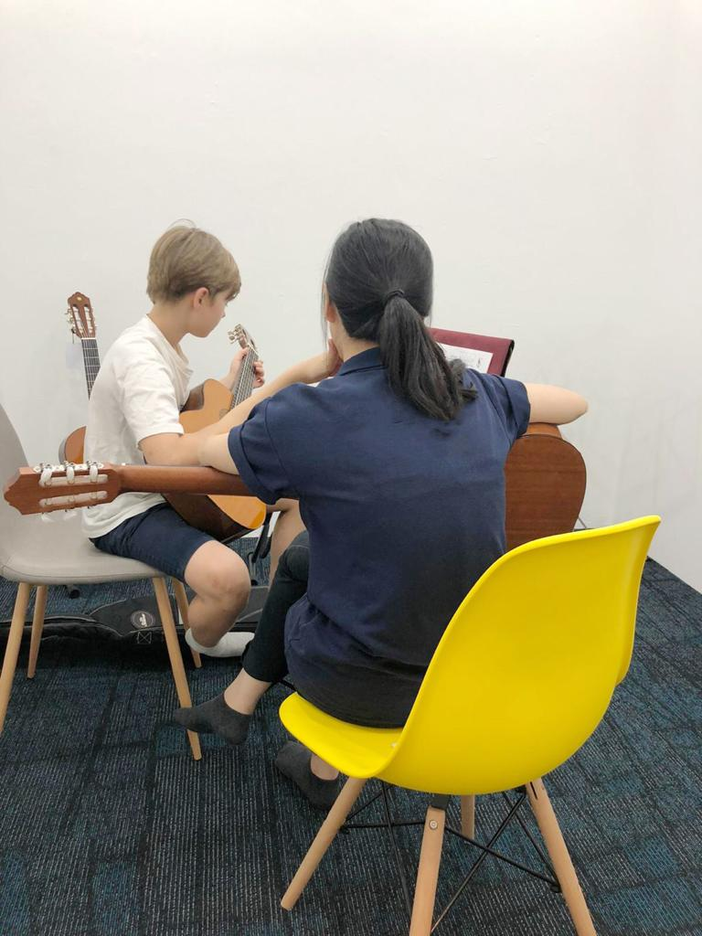 Guitar Lessons with Amadeus Music Academy Singapore
